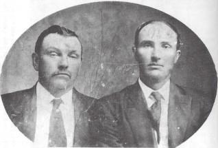Sheriff W.R. Reid and Deputy Lummus