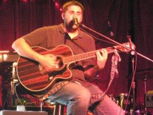 Carl Playing a Set